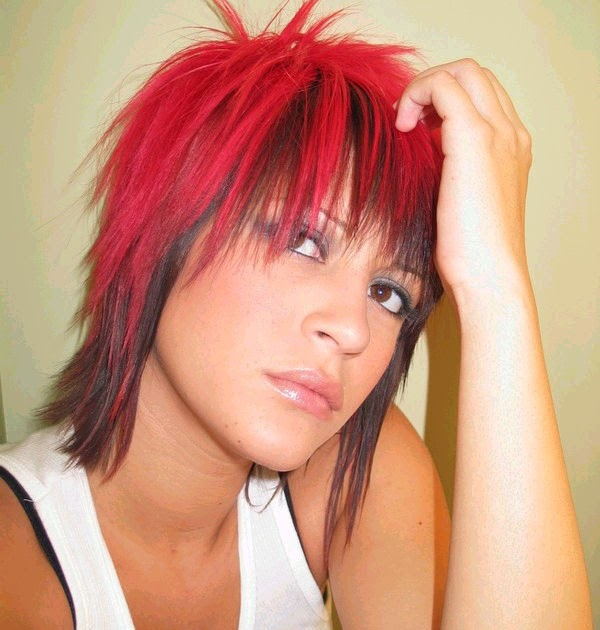 Emo Hairstyles Emo Hair Fashion Trendy Mullet Emo