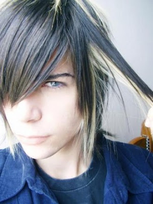 Peachy Preeninaris Emo Hair Boy Anime Hairstyles For Women Draintrainus