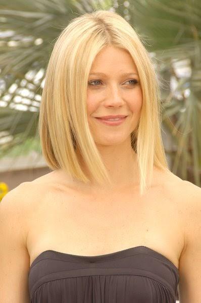 Men Women Hairstyles: Gwyneth Paltrow's Medium Hairstyle