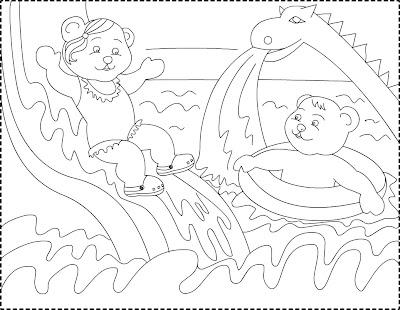 Ninanino Comeback Summer Coloring Page Desen De Colorat