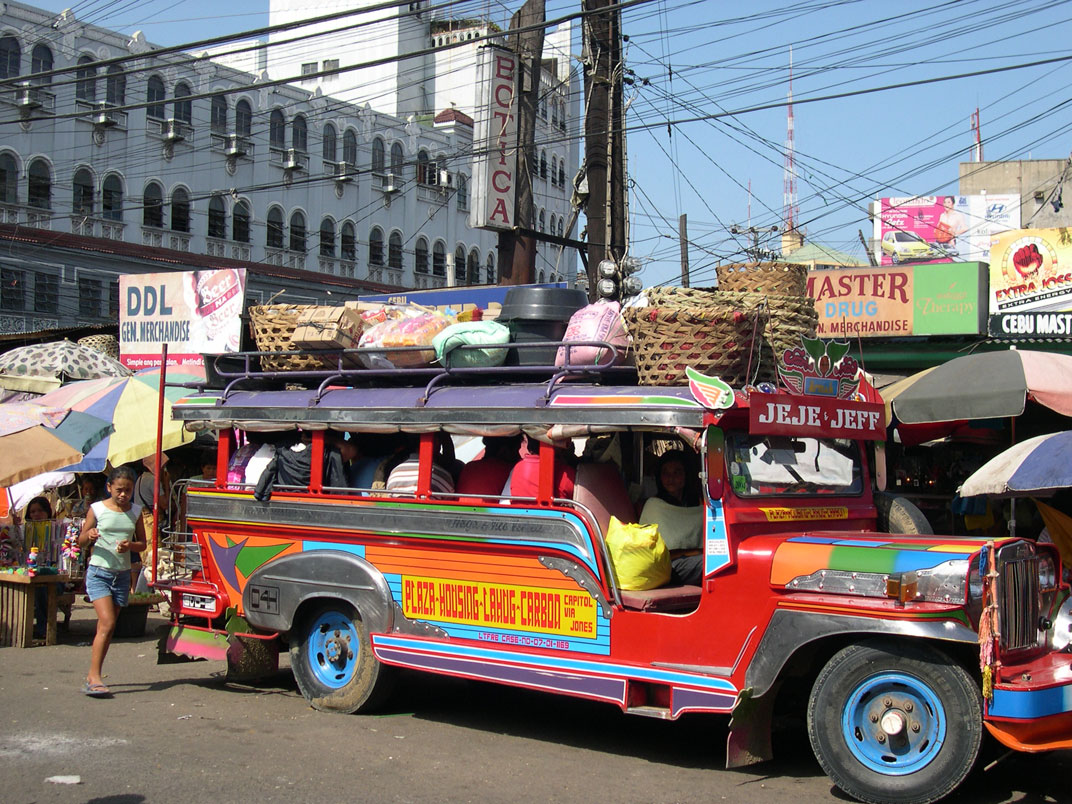 Clumsy Fancy Jeepney In The Philippines Is Evolving Hop In For A