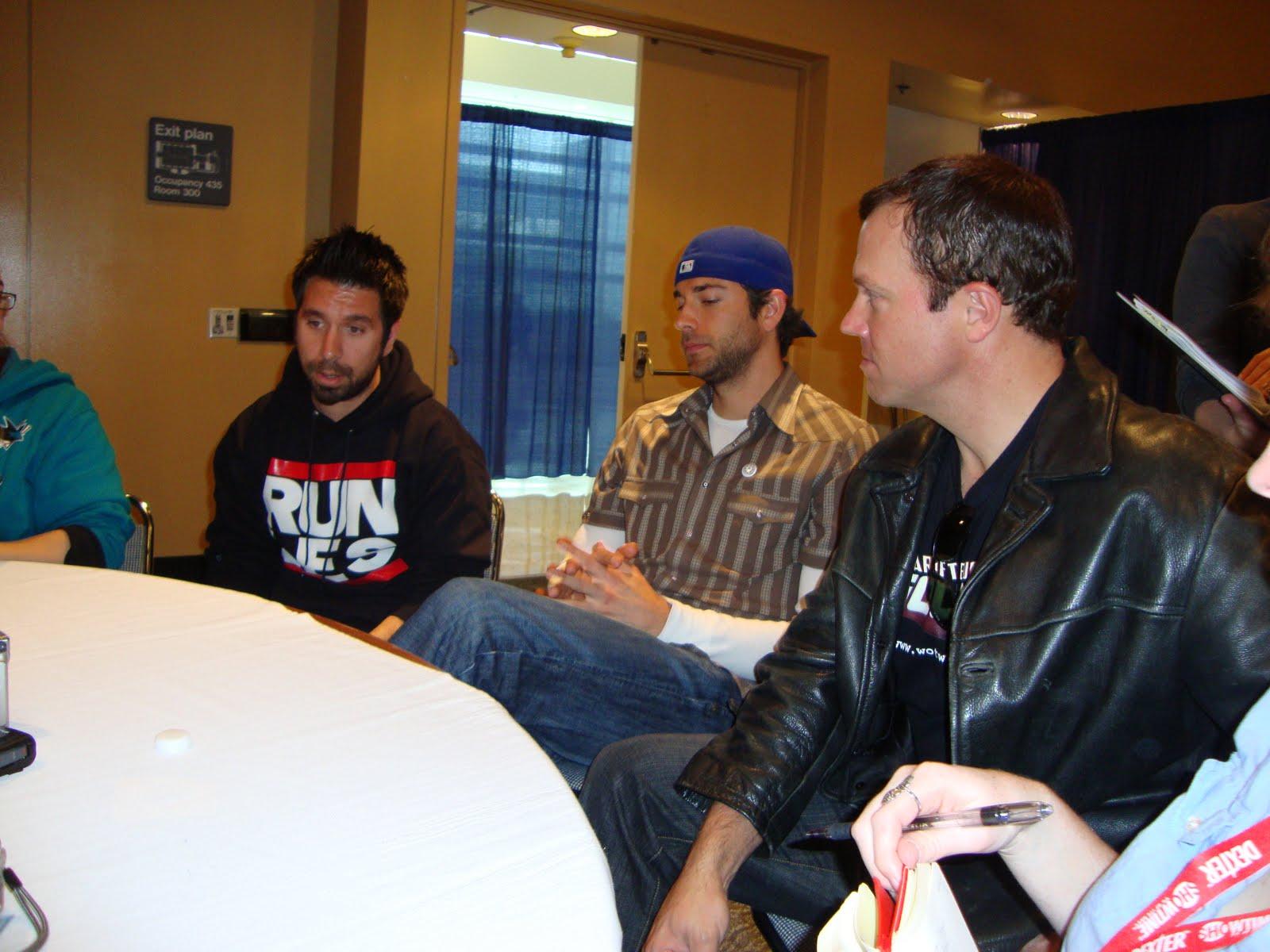 Chuck Cast Interviews Part Two Zachary Levi Joshua Gomez And Adam Baldwin Sandwichjohnfilms Nov 30th, 2011 at 12:59 pm. sandwichjohnfilms com
