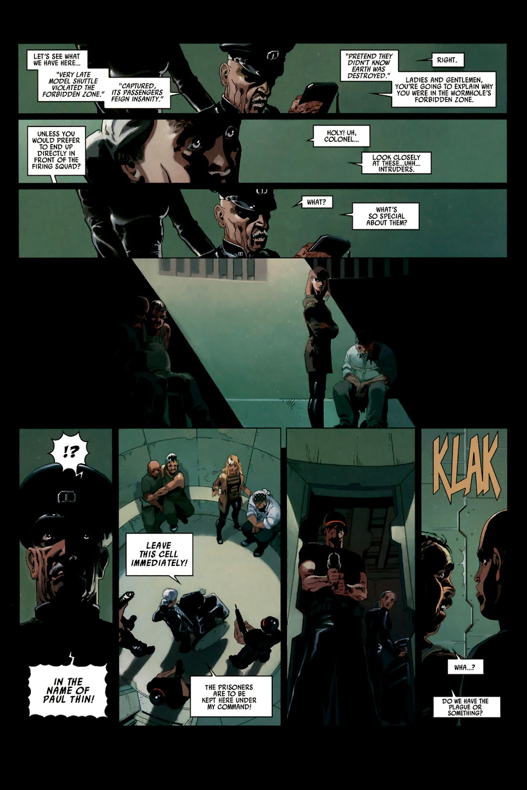 Read online Universal War One: Revelations comic -  Issue #2 - 22