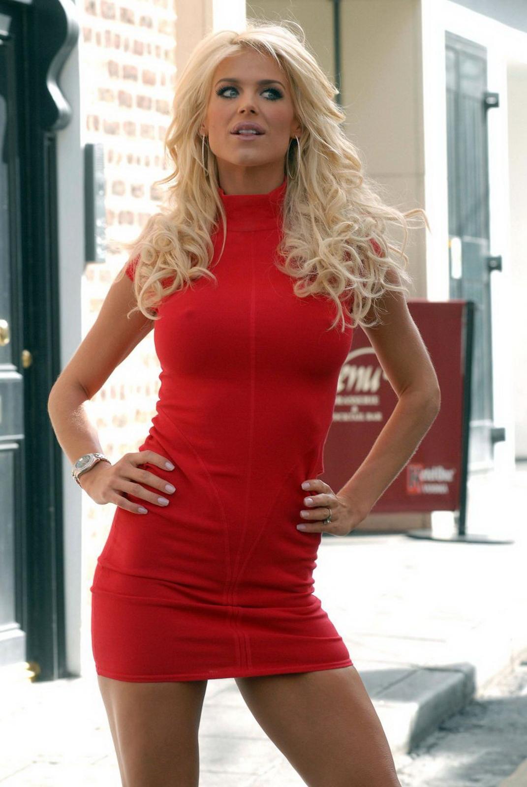World Celebritie Celebrity Victoria Silvstedt Big Boobs -8993