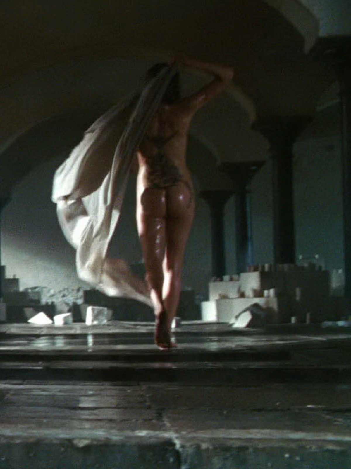 Anglina jolie naked in wanted