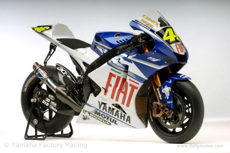 Best Yamaha Wallpapers: Valentino Rossi Fiat Yamaha
