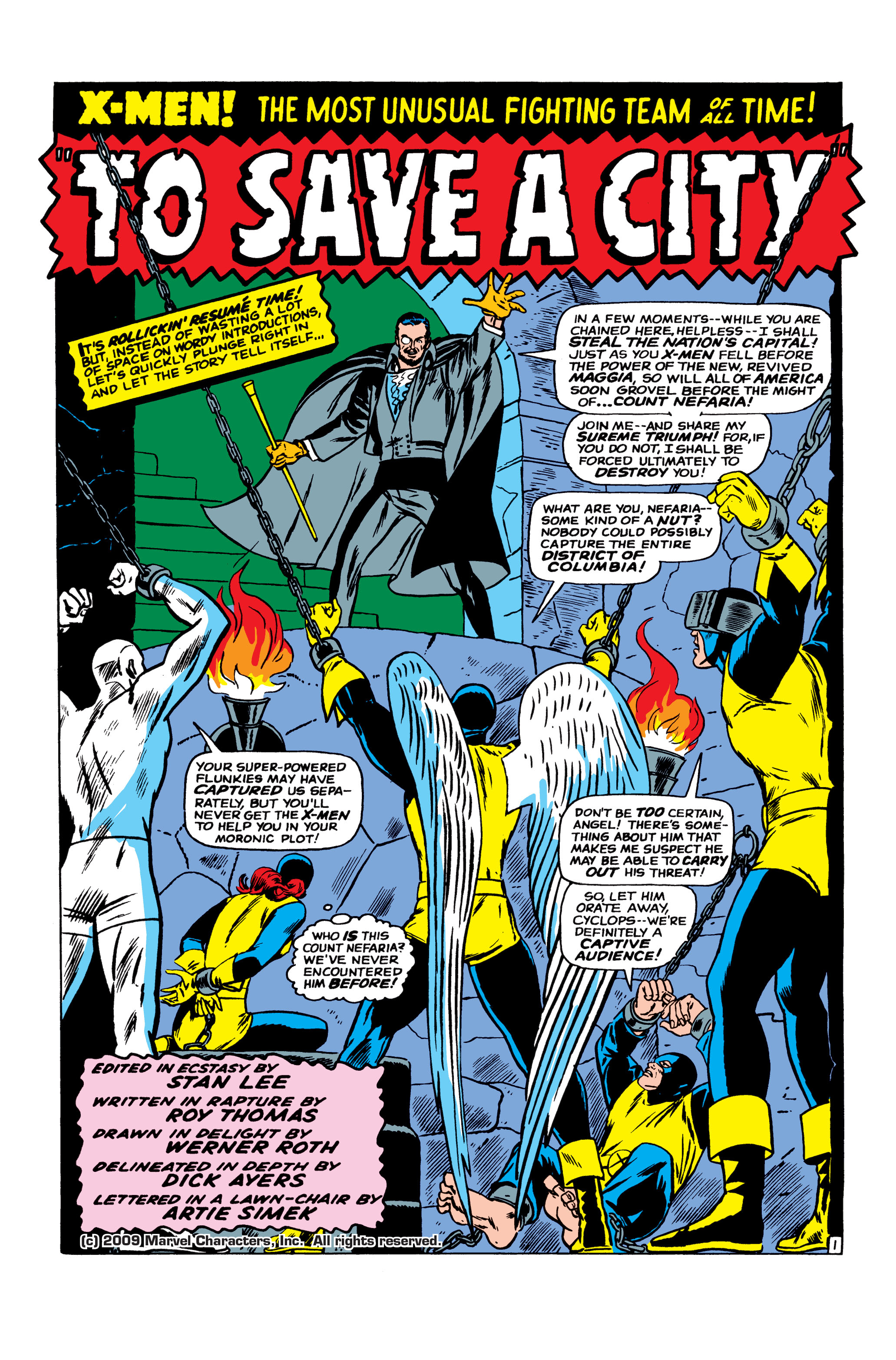 Read online Uncanny X-Men (1963) comic -  Issue #23 - 2