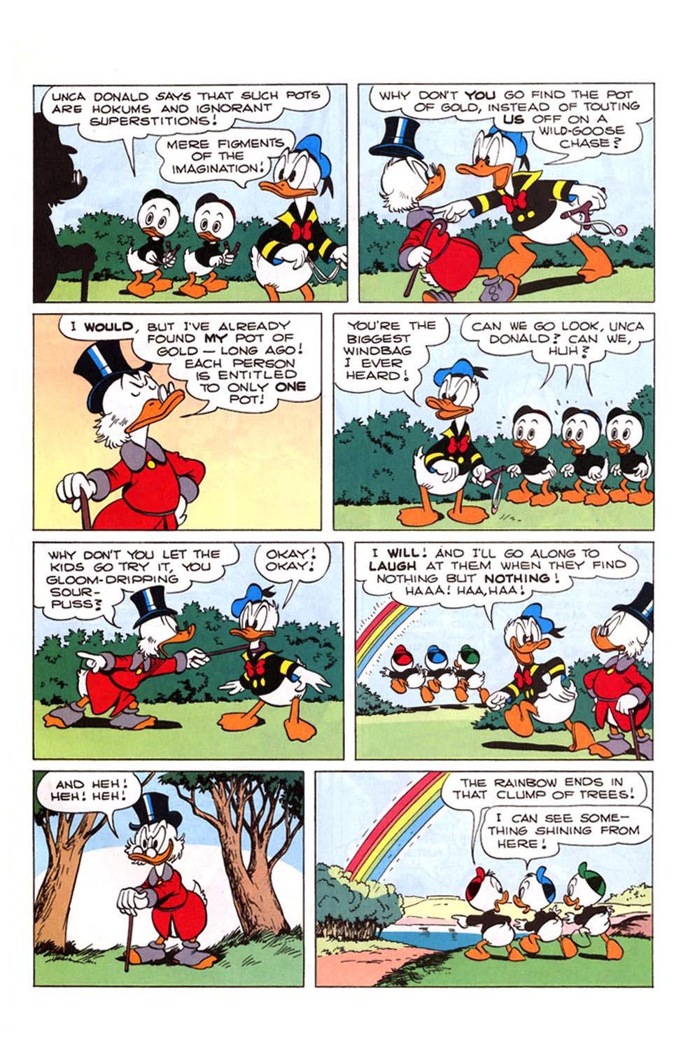 Read online Uncle Scrooge (1953) comic -  Issue #281 - 4