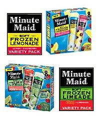 jjsnack 0 Free Minute Maid Frozen Novelty