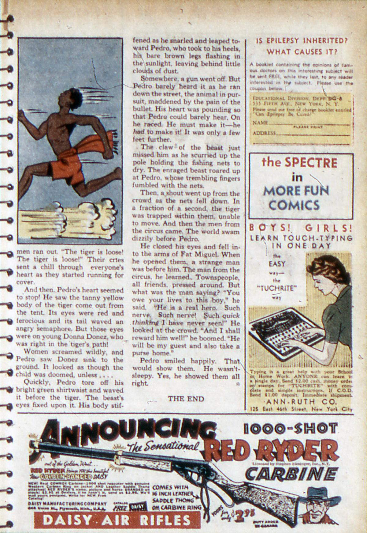 Read online Adventure Comics (1938) comic -  Issue #53 - 28