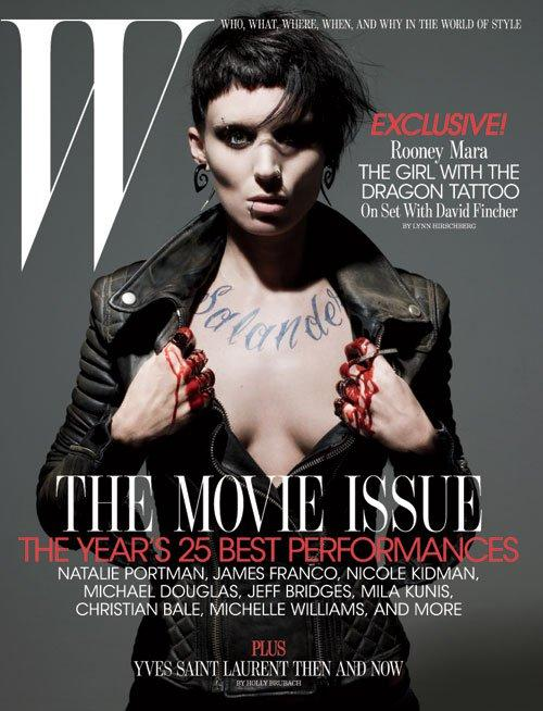 Rooney Mara for W Magazine February 2011