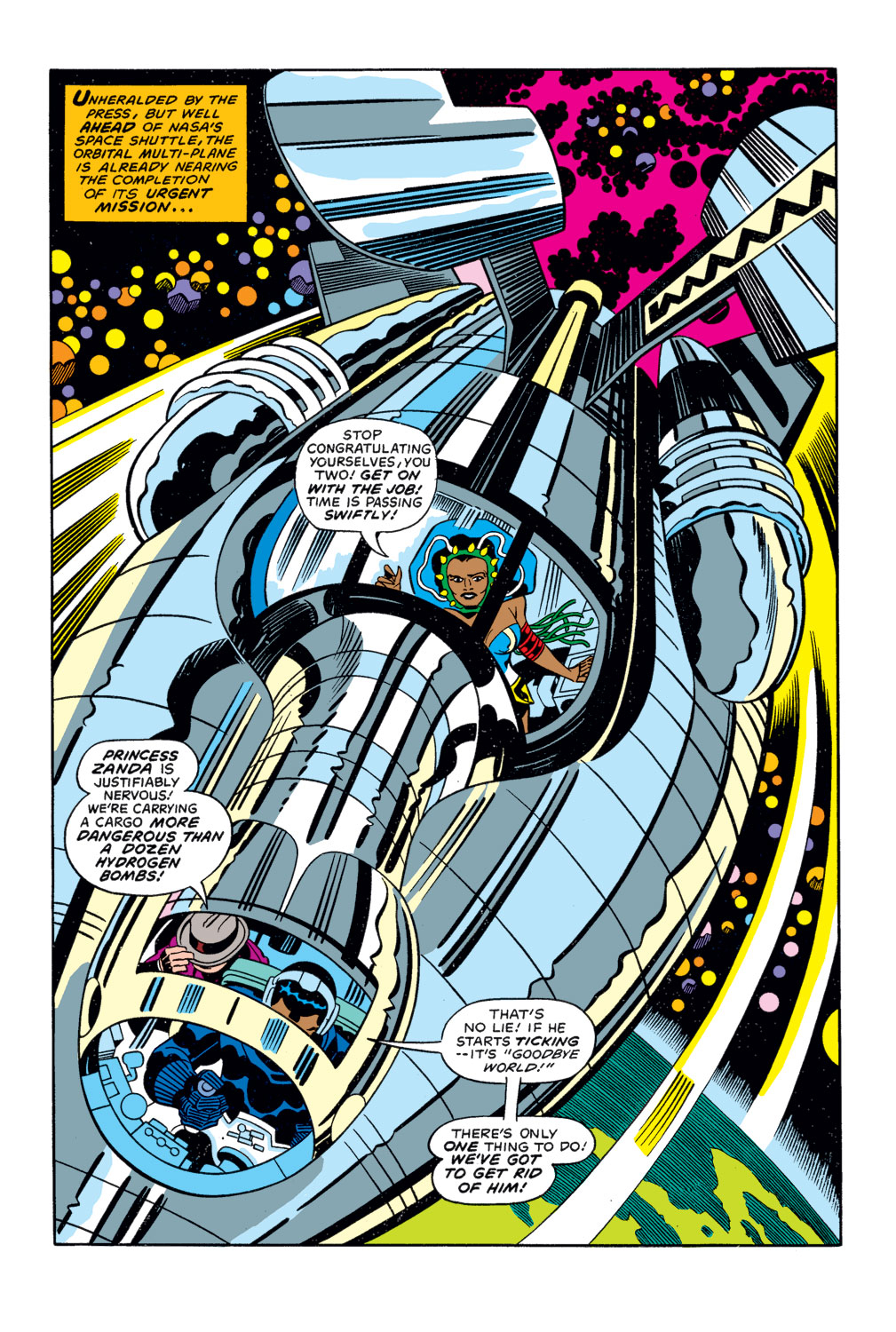 Black Panther (1977) issue 3 - Page 3