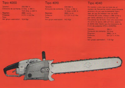 Stihl E30 chainsaw