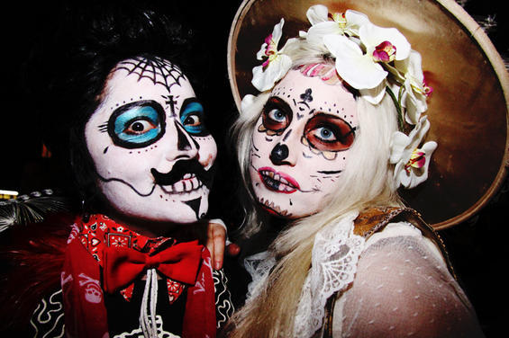 day of the dead makeup couple - photo #38