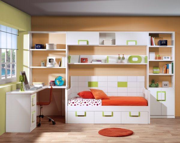 Dormitorios infantiles y juveniles para ni as ni os y - Habitaciones juveniles 2 camas ...