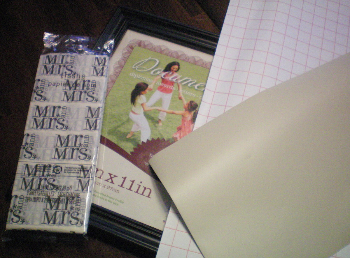 Monogrammed Wedding Gift: DIY- Monogrammed Wedding Gift!