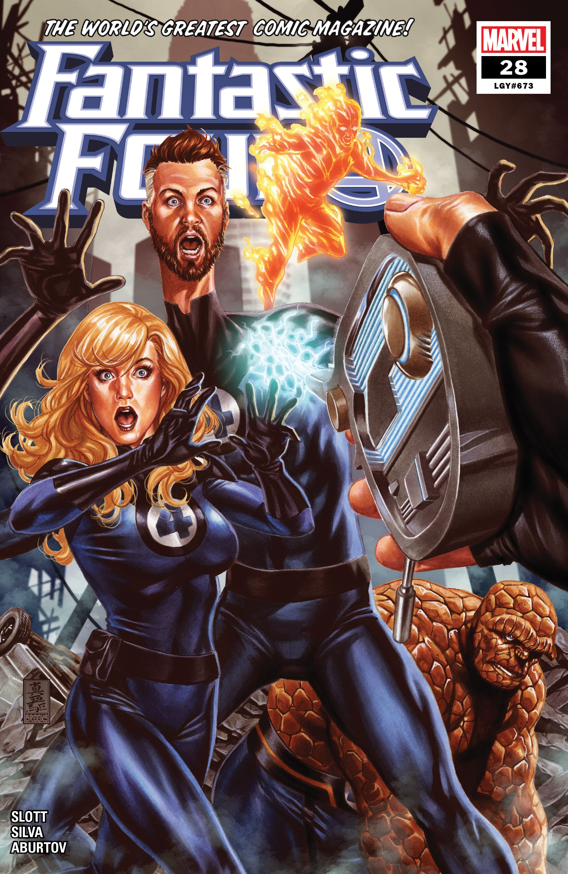 Fantastic Four (2018) issue 28 - Page 1