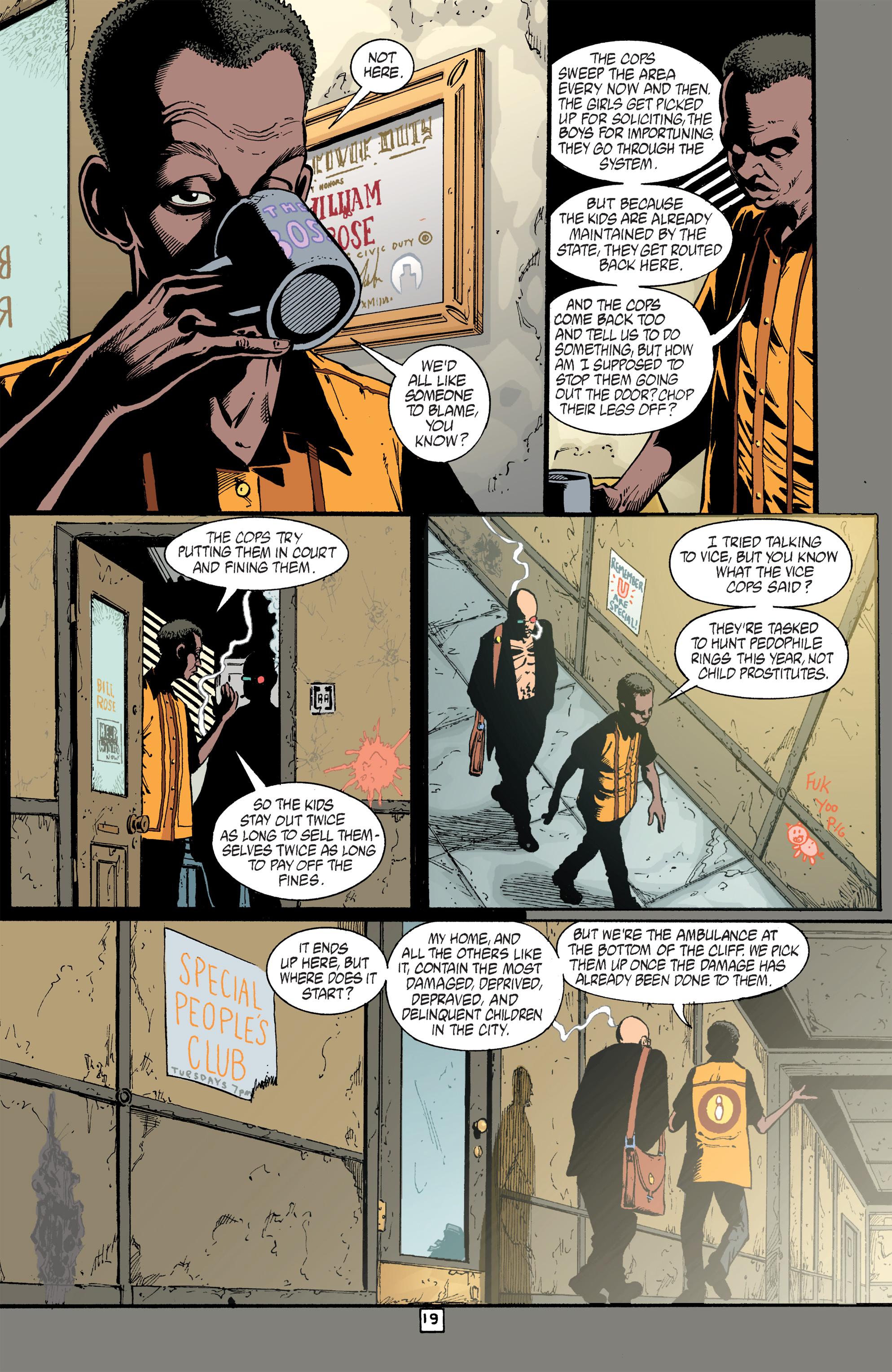 Read online Transmetropolitan comic -  Issue #40 - 20