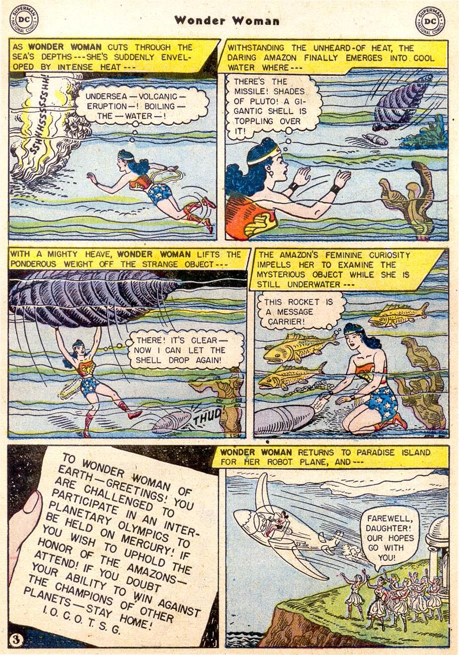 Read online Wonder Woman (1942) comic -  Issue #91 - 5