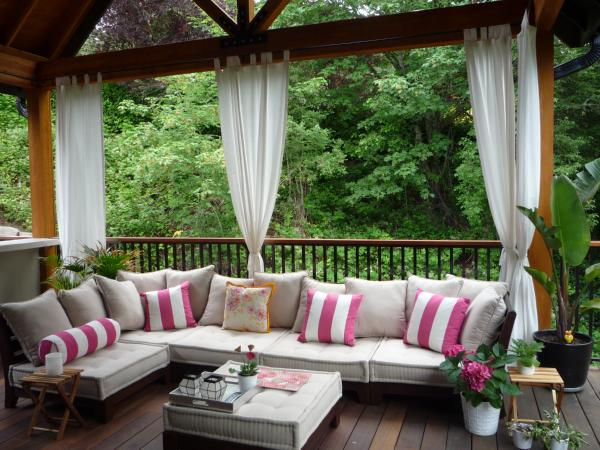 My Sweet Prints: Outdoor Curtains