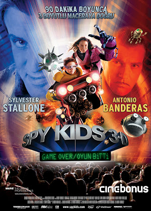 Pemain Spy Kids 3d Game Over
