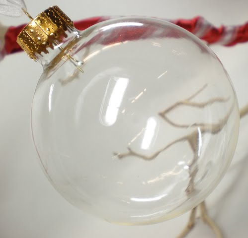 Clear Christmas Ornaments For Crafting