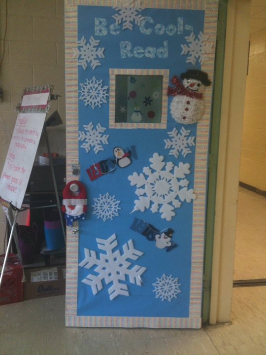 Winter Door Decorating Ideas School - Home Decoration