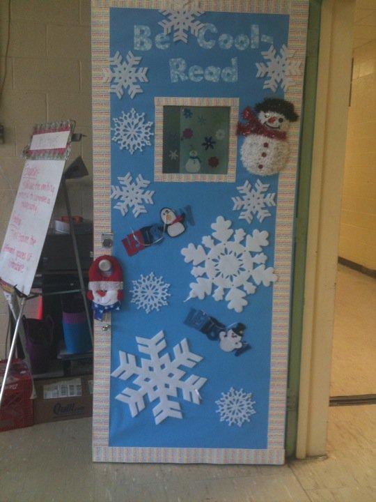 Winter Door Decorating Ideas School