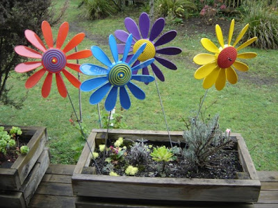 4 happy daisies