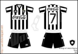 70bfdfeef6 World Kits  1989 - Botafogo de Futebol e Regatas (Home e away)