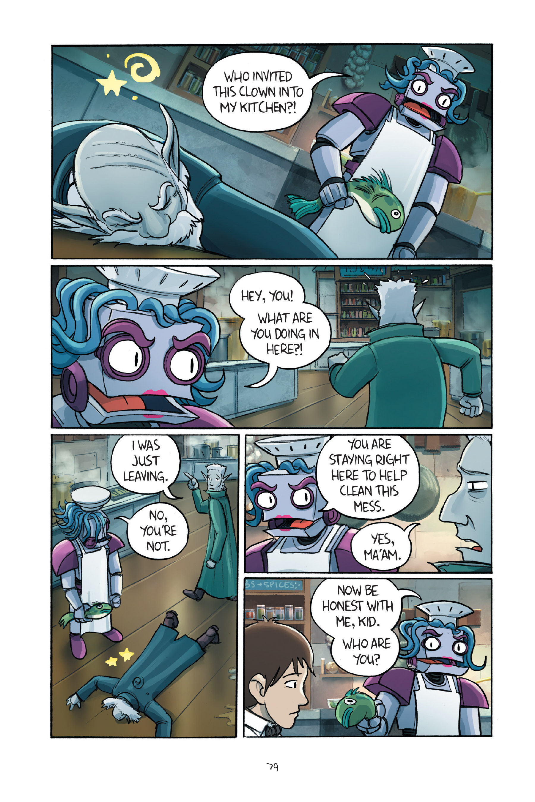 Read online Amulet comic -  Issue #7 - 80