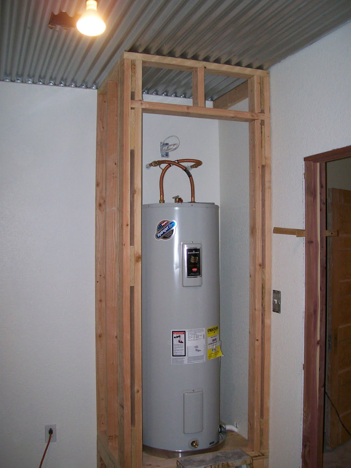 Neater Water Heater