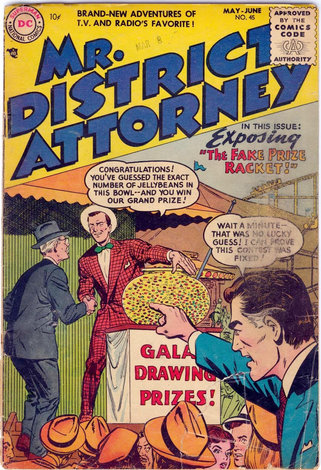 Mr. District Attorney issue 45 - Page 1