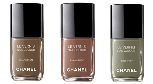 Nail Colour Trend Chanel Khakis Collection Fall 2010