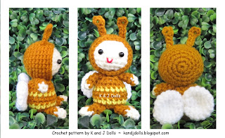 Kostenlose Fauler Hase Amigurumi Häkelanleitung - Little Bear Crochets | 196x320