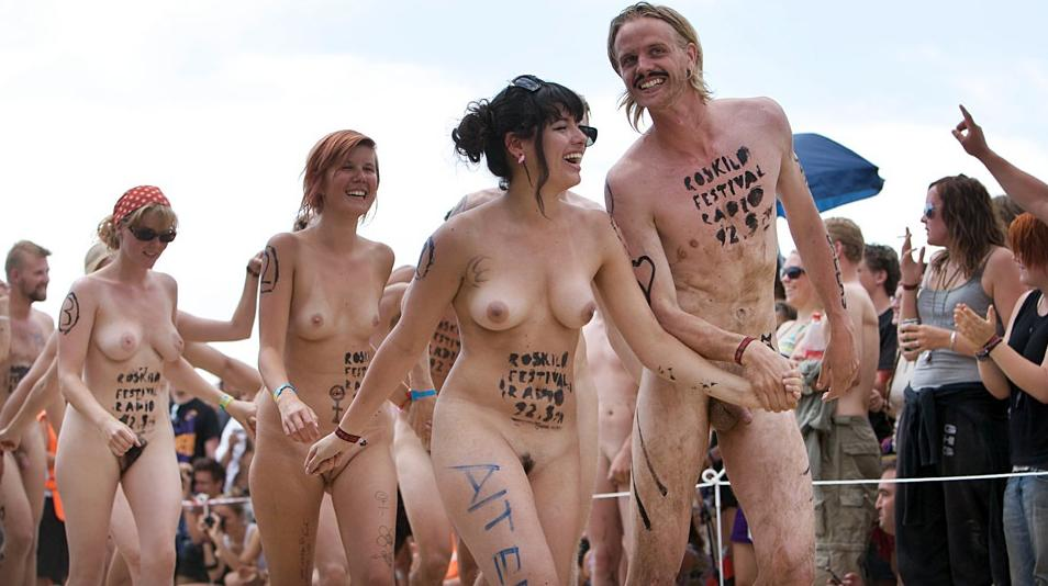 The world naked bike ride arrives in cardiff