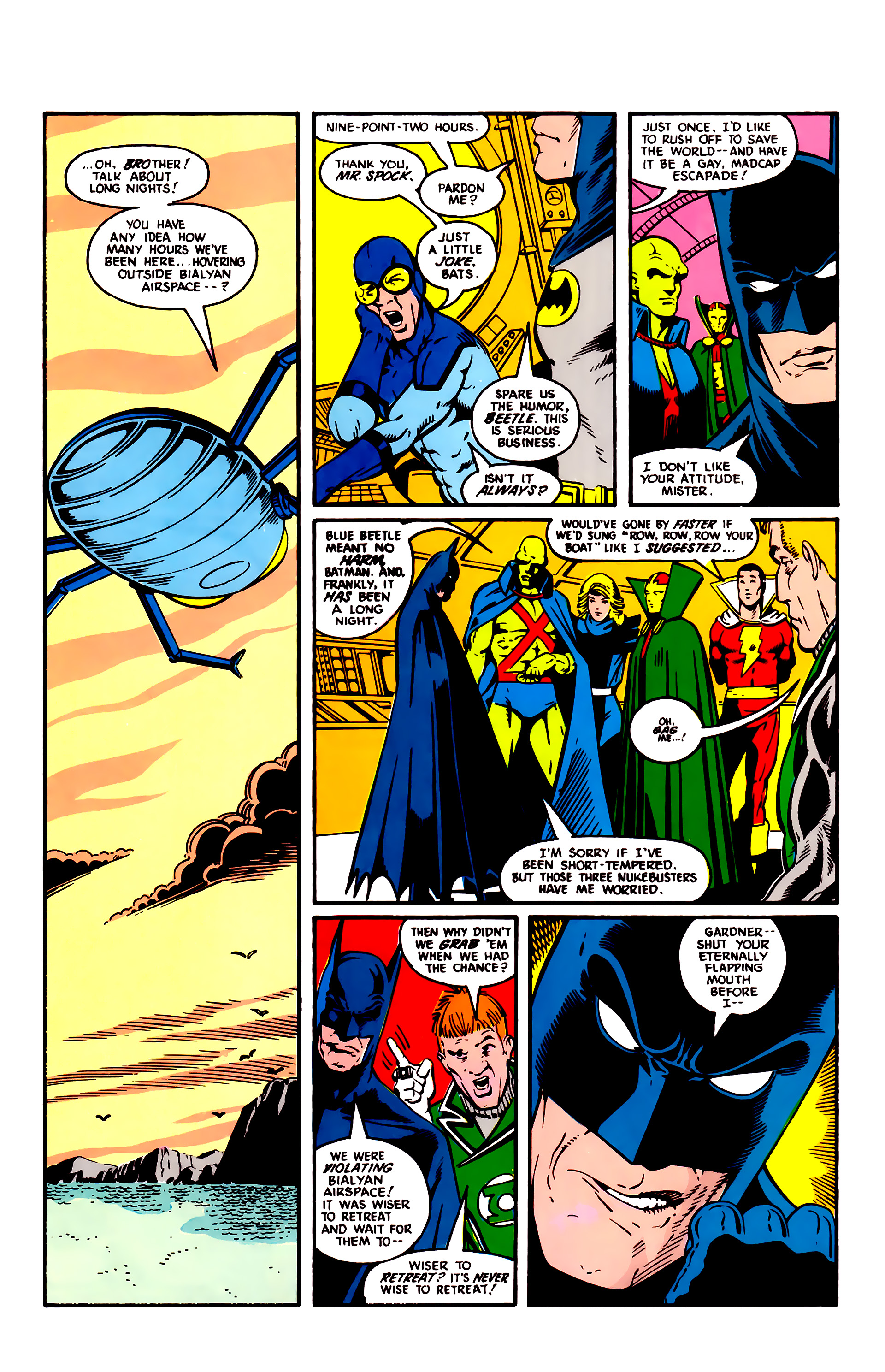 Read online Justice League (1987) comic -  Issue #3 - 5