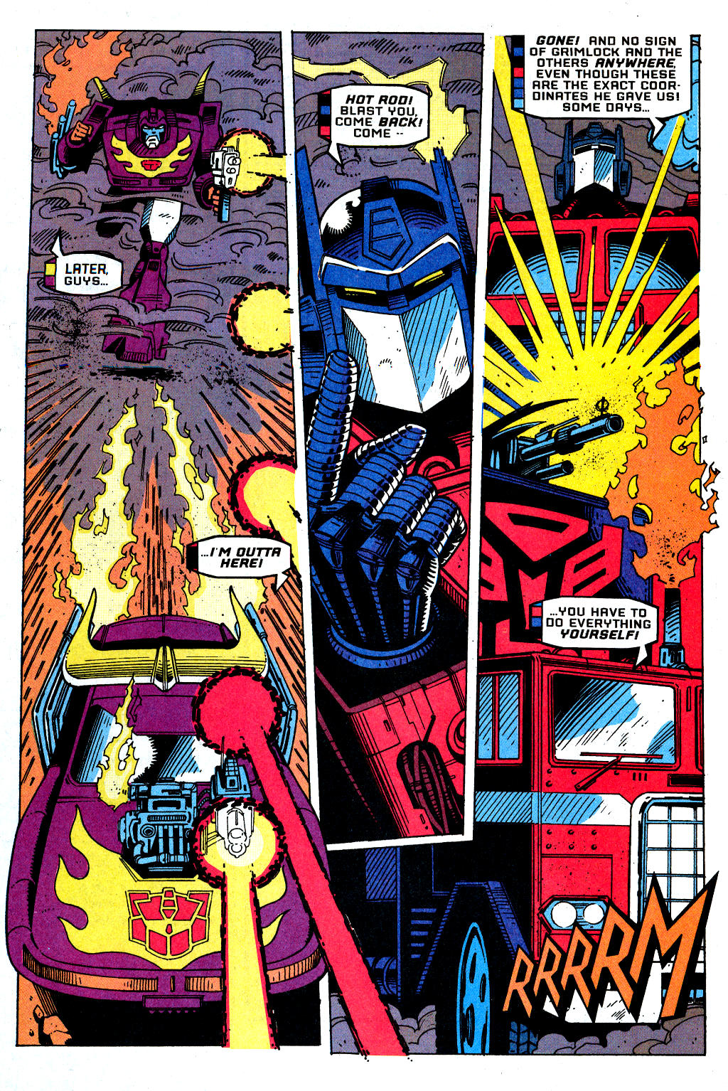 Read online Transformers: Generation 2 comic -  Issue #1 - 18