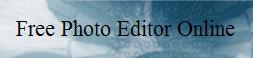 Free Photo Editor Online
