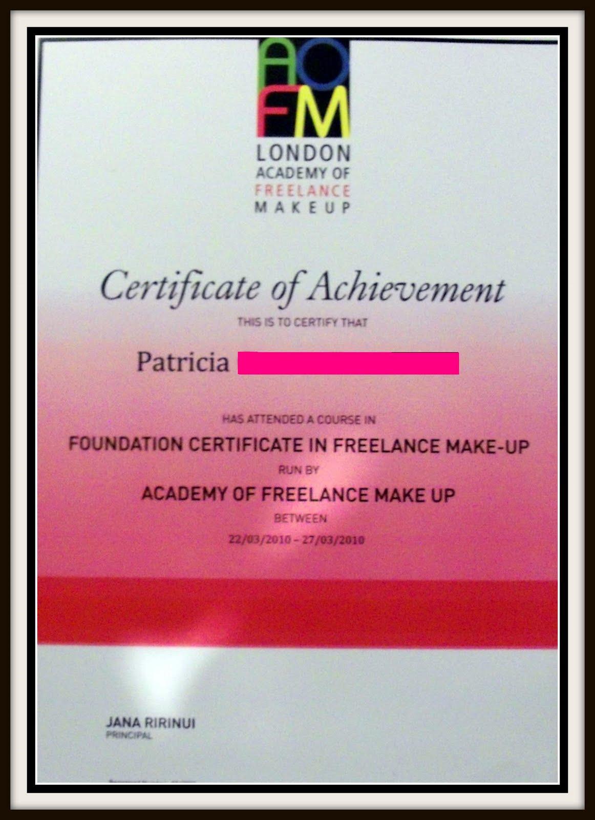 Sunday 4 April 2010. Sunday 4 April 2010. Academy Of Freelance Makeup ...