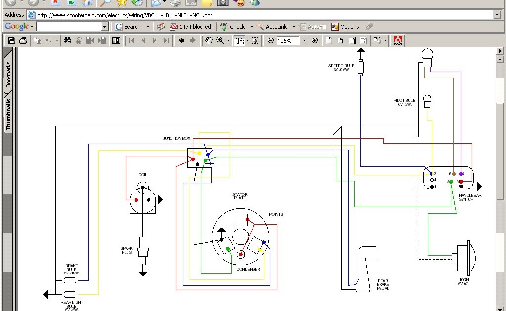 DOC ➤ Diagram Lambretta Scooter Wiring Diagram 100 Ebook