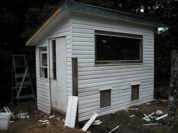 My Half Acre Homestead My Chicken Coop
