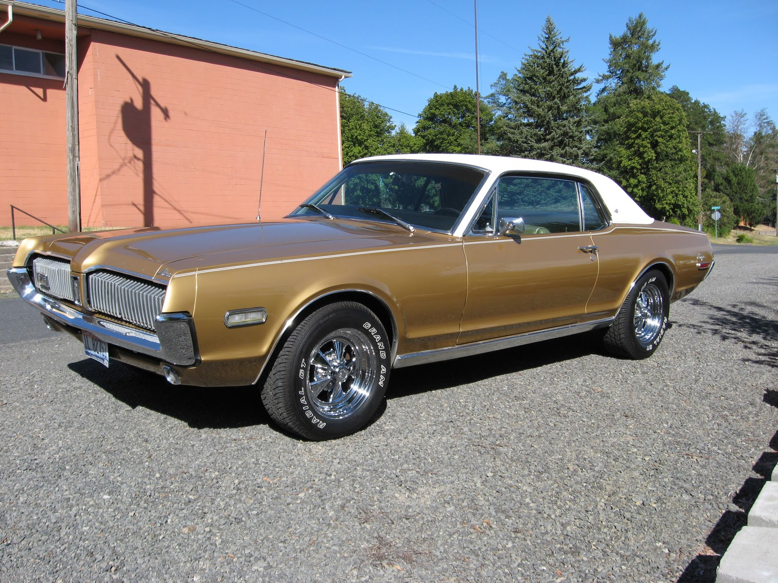 To Me: My 1968 Cougar XR7~She