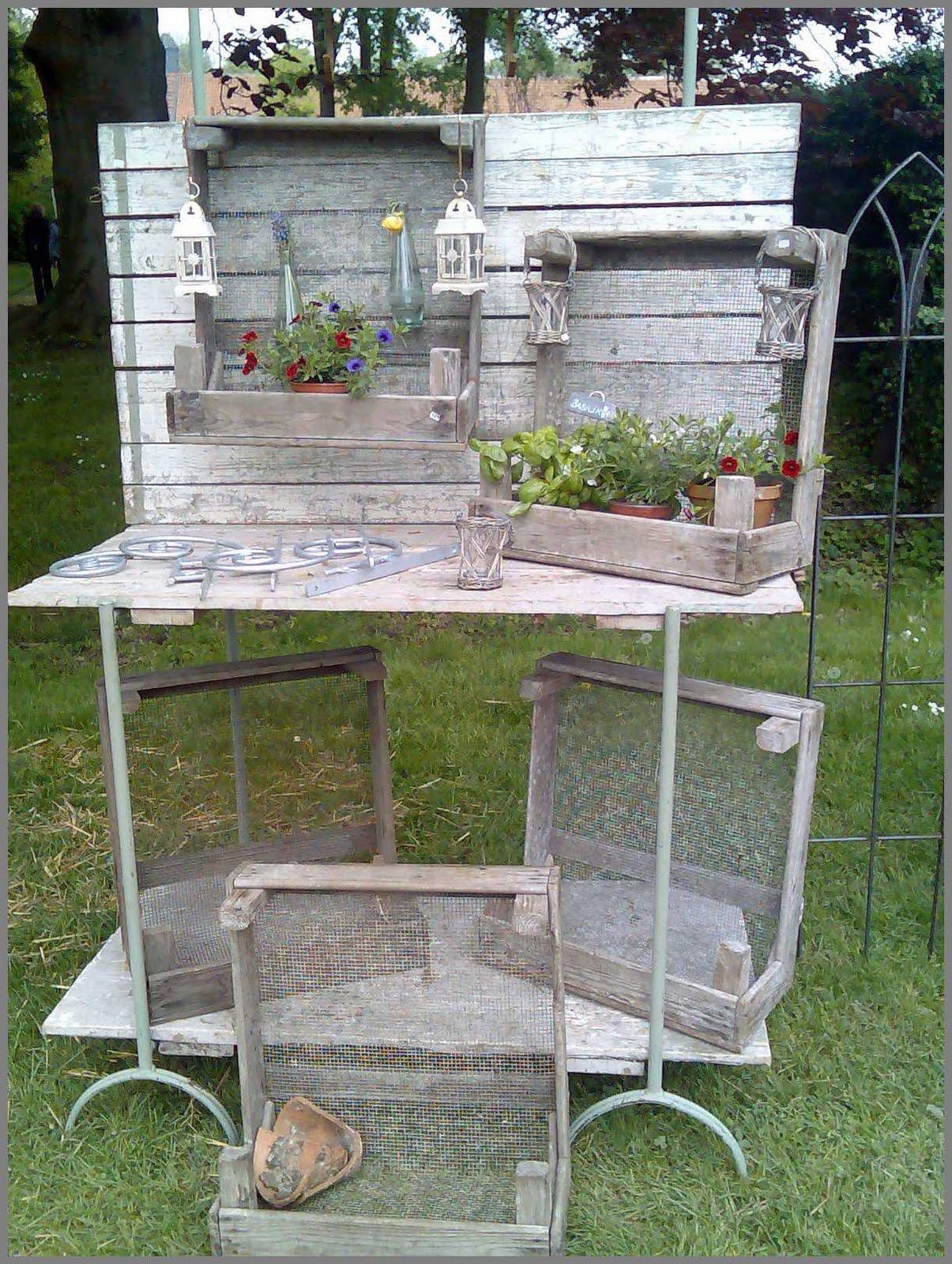 Beste Von Gartendeko Shabby Ideen