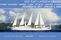 Join Travelpride and Be Part of the Most Exclusive All-Gay New Year's Celebration Ever...Finally, the answer for what to do for New Year's! Leave the chaos, crowds and cold weather behind and spend it in the company of 150 newfound friends in the warm Caribbean. Our holiday cruise will take you to some of the exclusive yachtsman's ports rarely experienced by the large mega-cruise ships.