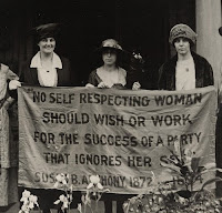 No Self Respecting Woman Should Wish or Work for the Success of a Party That Ignores Her Sex - Susan B. Anthony 1872