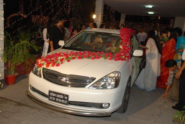 Bangladesh Design Wedding Car