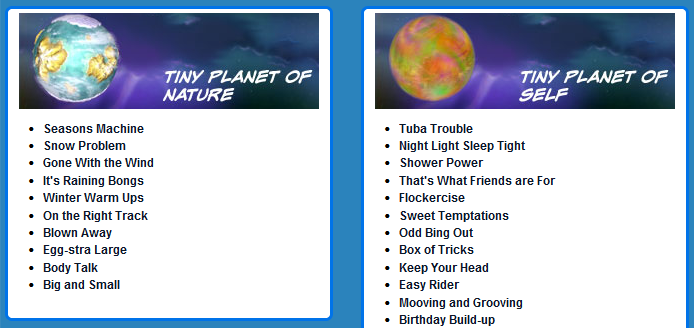 Created 2B Creative: My Tiny Planets Website - Product Review