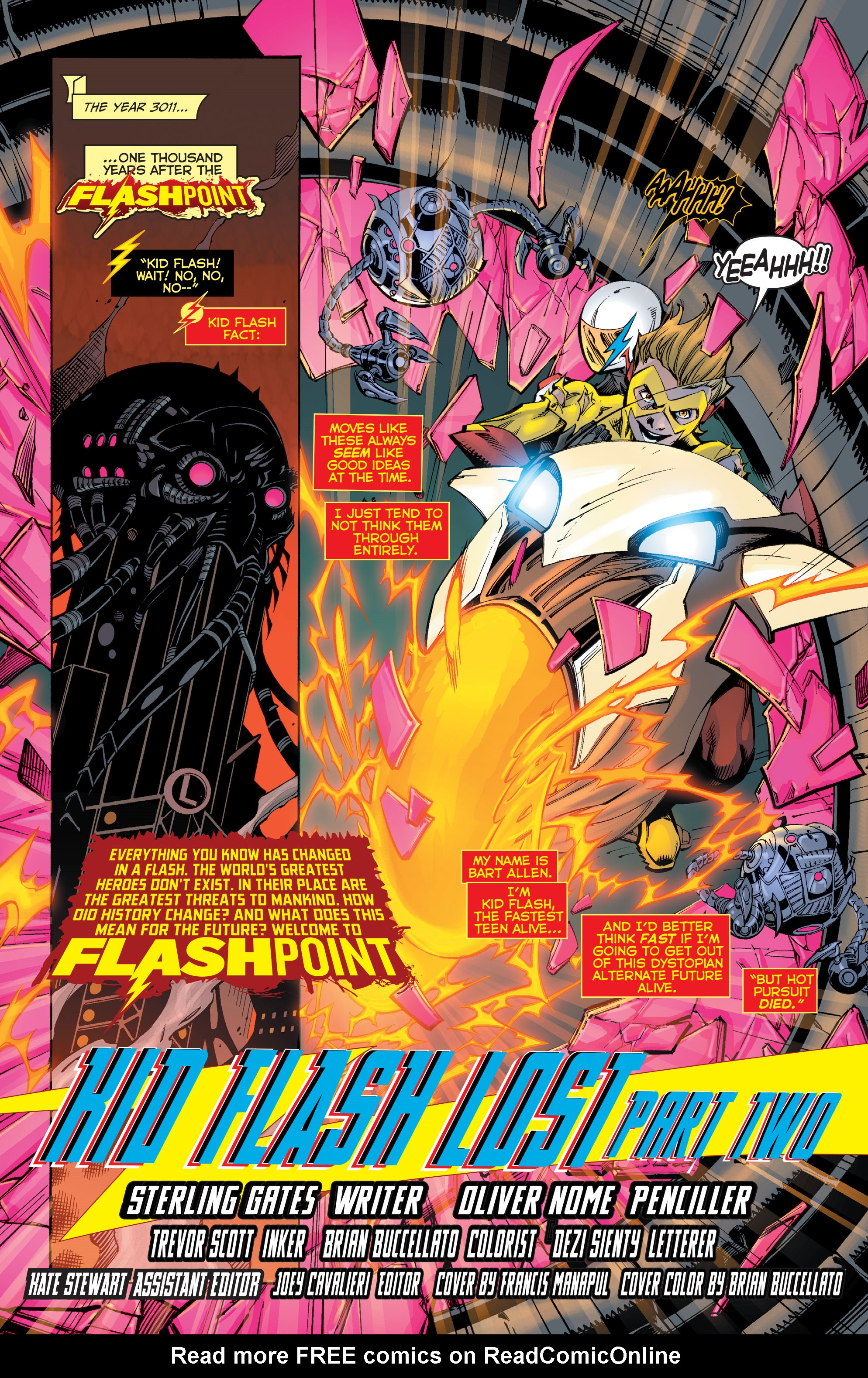 Read online Flashpoint: Kid Flash Lost comic -  Issue #2 - 2