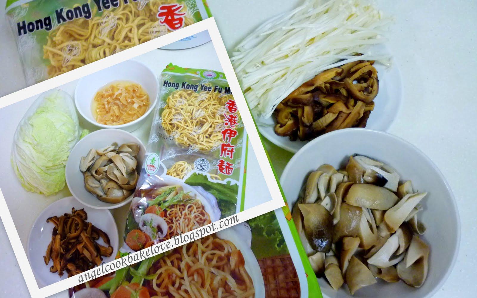 Cook Bake Love Angel S Braised Ee Fu Noodles 爱的焖伊府面